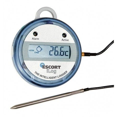 Data logger per alte temperature 72D32 fino a +150 °C con sonda esterna