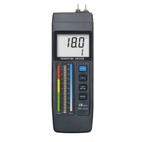 Termoigrometro MS-7003 per misura dell'umidità di legno e cemento