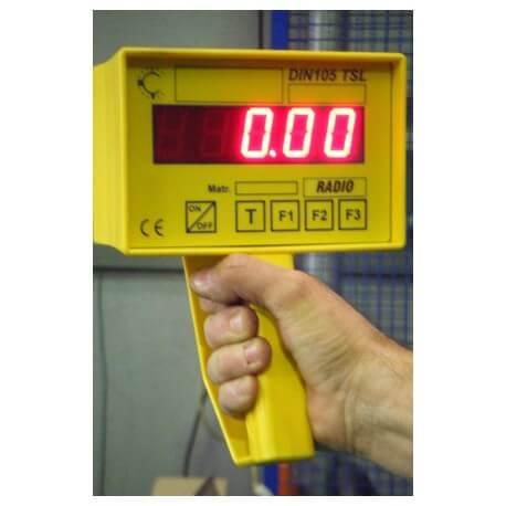 Ripetitore di peso radio per dinamometri DIN 105 GRIP