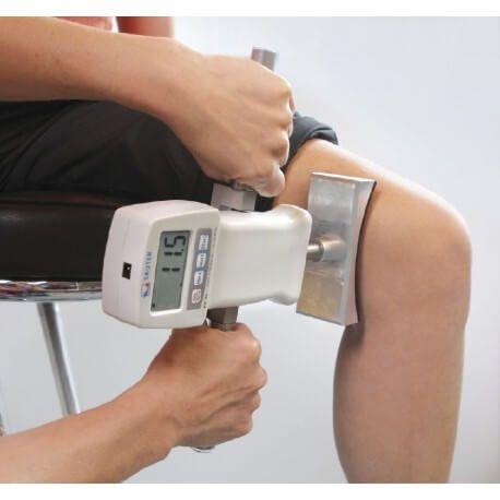 Dispositivo a forma concava fino a 1000 N, con raggio ottimizzato per misurare la forza di braccia e gambe