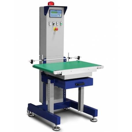 DLW - sistema di pesatura a nastro per controllo +/-