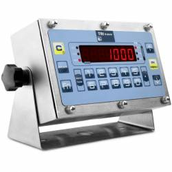Indicatore di Peso in acciaio inox IP65 serie TRI-W