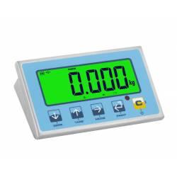 Indicatore di peso con cifre XL e controllo di tolleranza