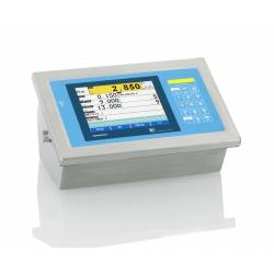 Terminale di Pesatura Touch INOX IP68