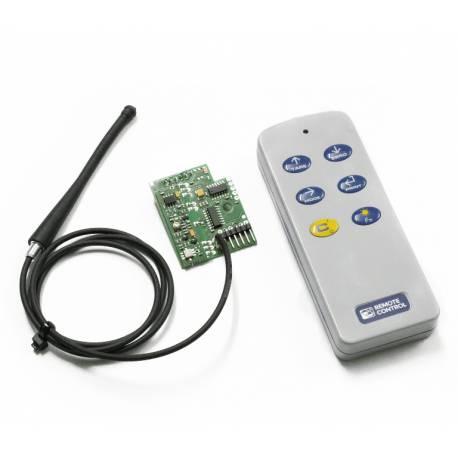 Telecomando in radiofrequenza per indicatori di peso