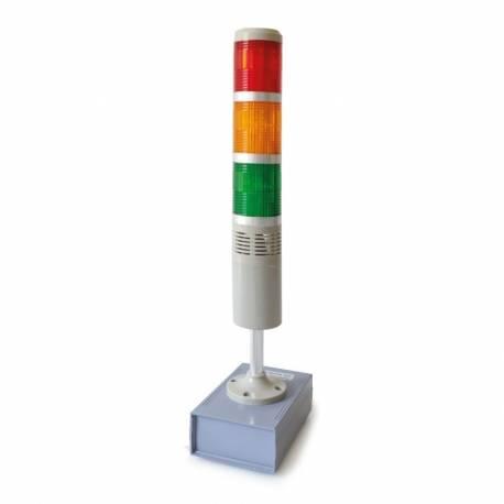 Semaforo luminoso per check peso/pezzi HIGH - OK - LOW