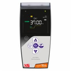 Termometro XS TEMP 70 Pt100 Vio Doppio Canale e Data Logger