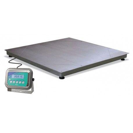Bilancia da pavimento in acciaio inox IP68 anche per esterno