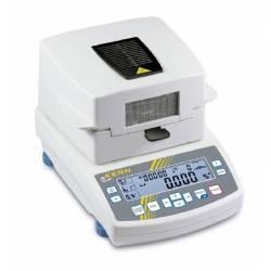 Misuratore d'umidità essiccatore con 20 memorie e display grafico