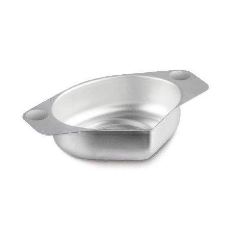 Piatto per pietre preziose, in alluminio, con un pratico beccuccio
