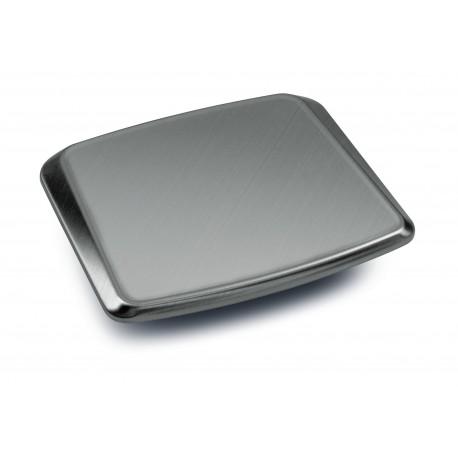 Piatto di pesata 180×195 mm, acciaio inox