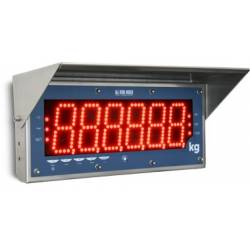 Indicatore / Ripetitore di peso con grande display a matrice di LED superluminosi