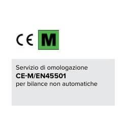 Omologazione CE-M per bilance in classe I o II di portata oltre 6 kg e sino a 35 kg