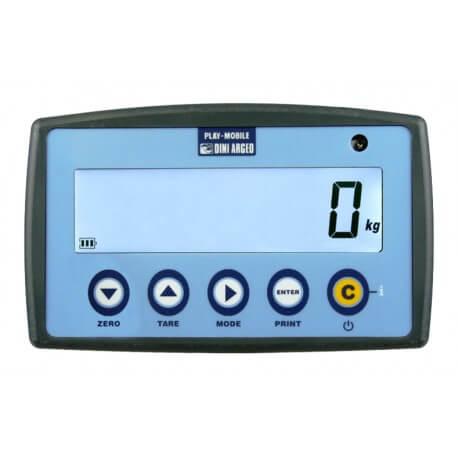 Ripetitori di peso in radiofrequenza per dinamometri