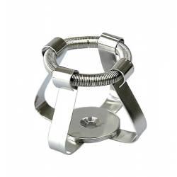 Clips a molla AISI316 beute 25ml ARGOlab