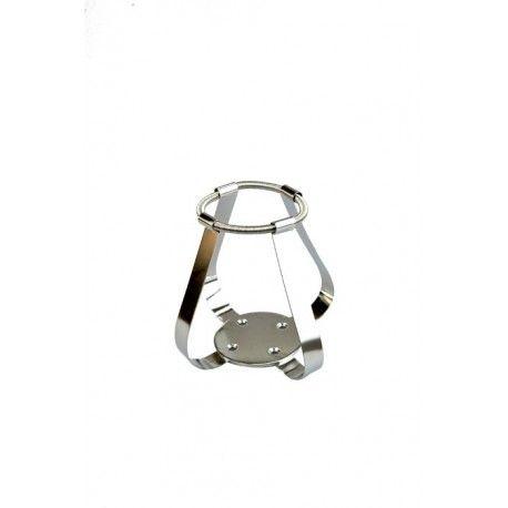 Clips a molla AISI316 beute 500ml ARGOlab