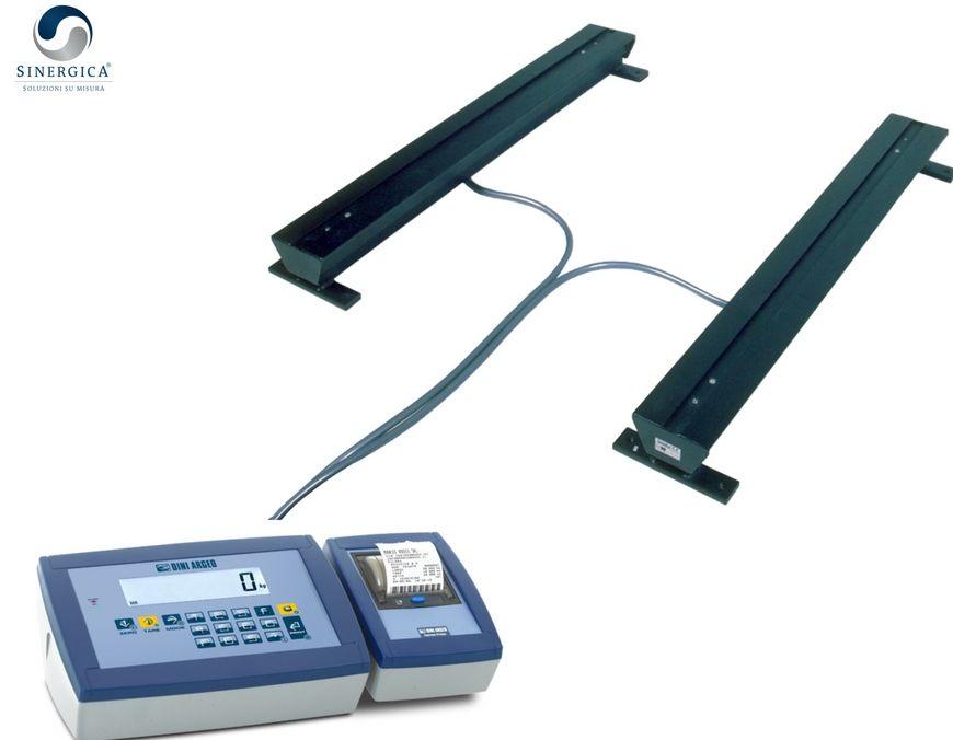 Barre pesatrici con indicatore e stampante