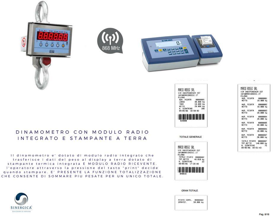 dinamometro omologato con stampante