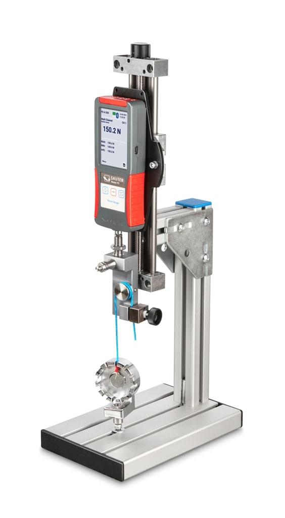 misuratore di forza su banco manuale