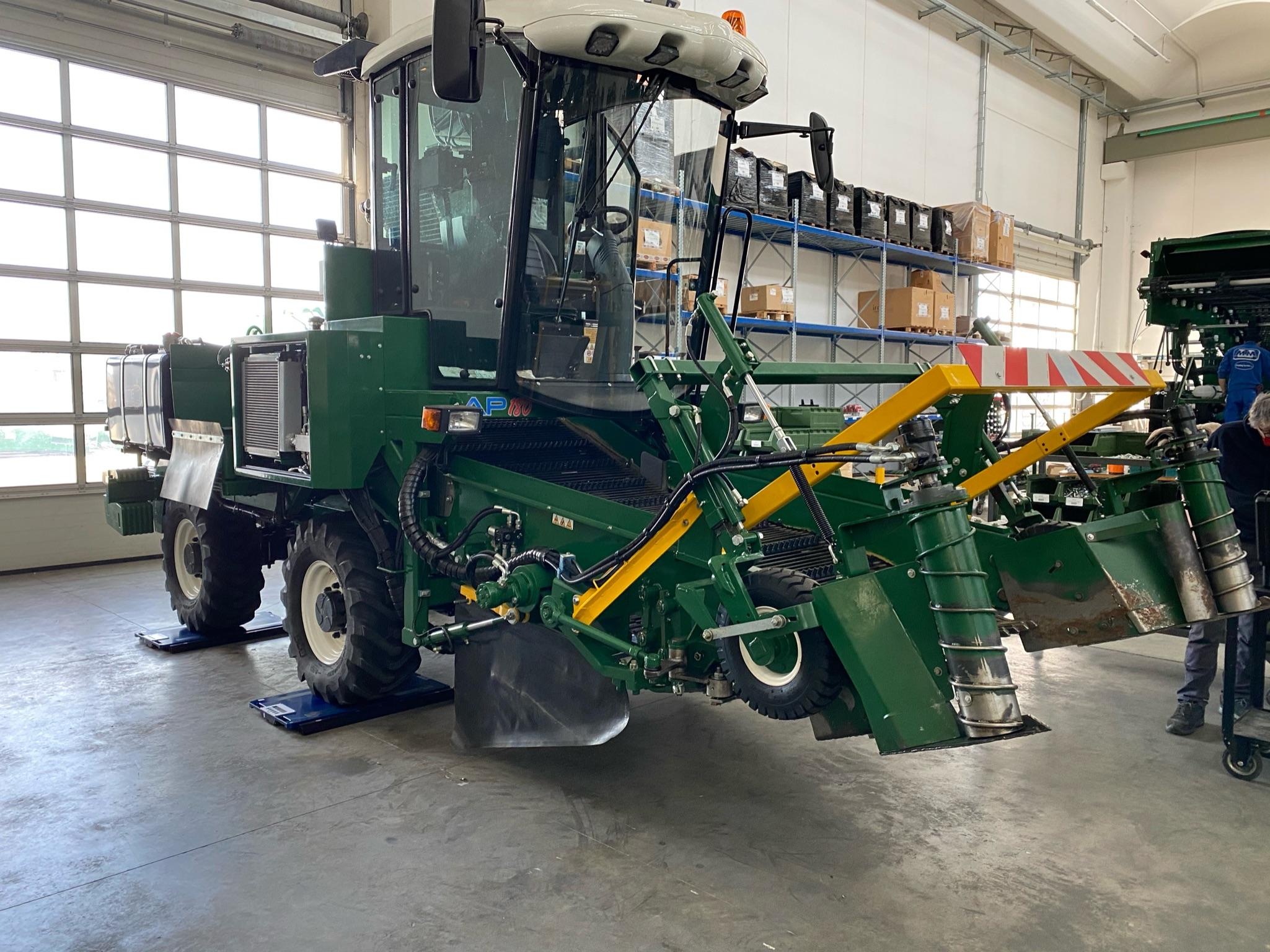 pesatura macchina agricola