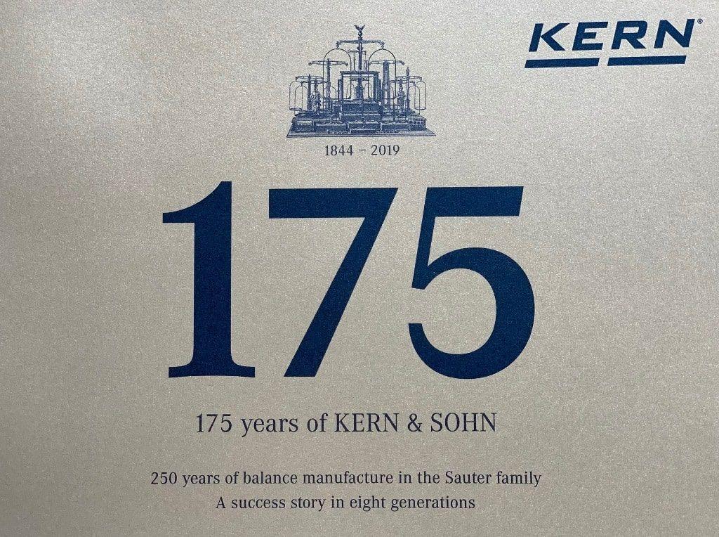 anniversario 175 annii Kern & Sohn