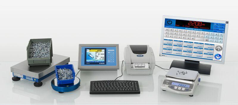 Bilance professionali e sistemi di pesatura
