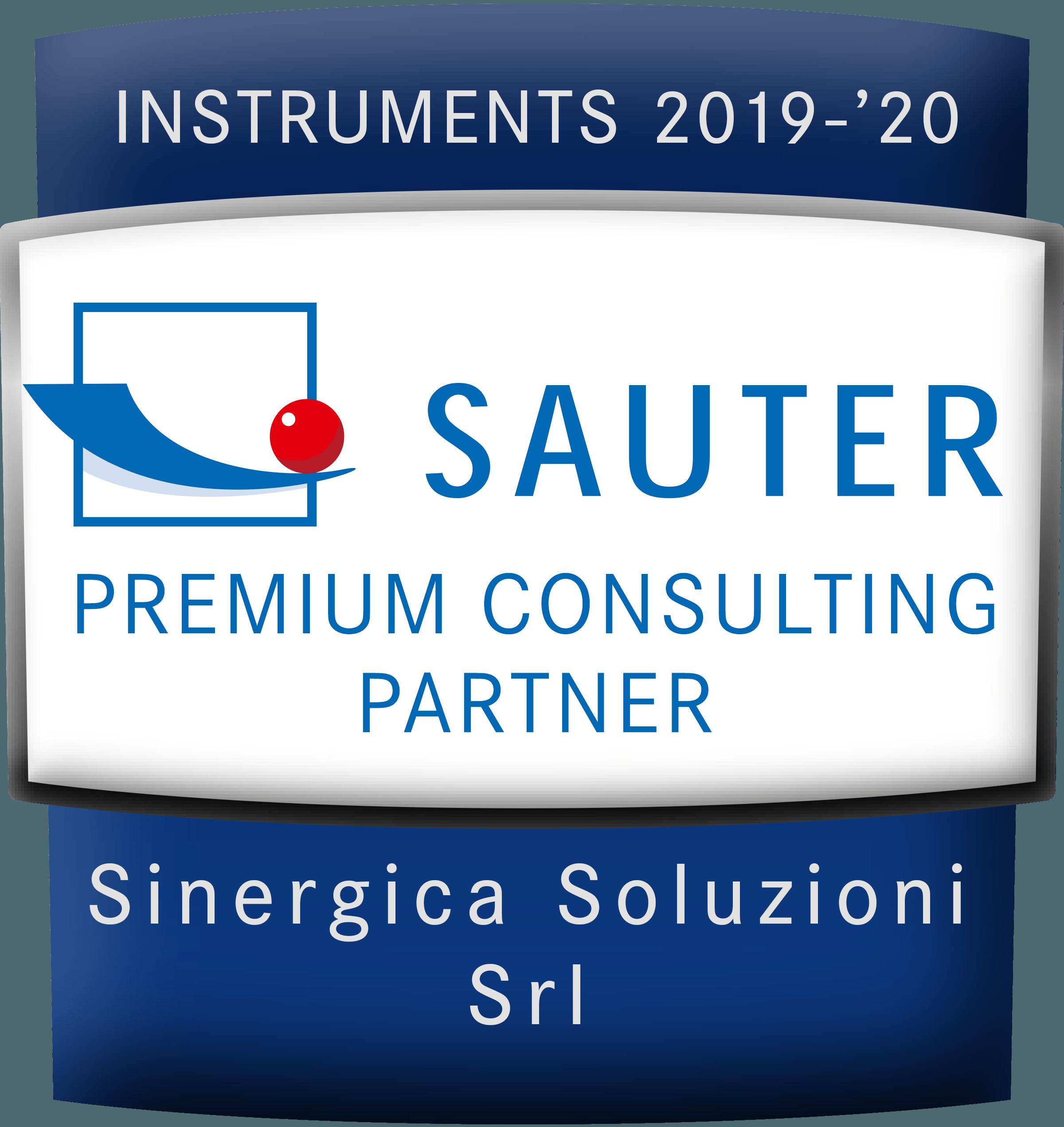 logo rivenditore SAUTER premium partner 2019/2020