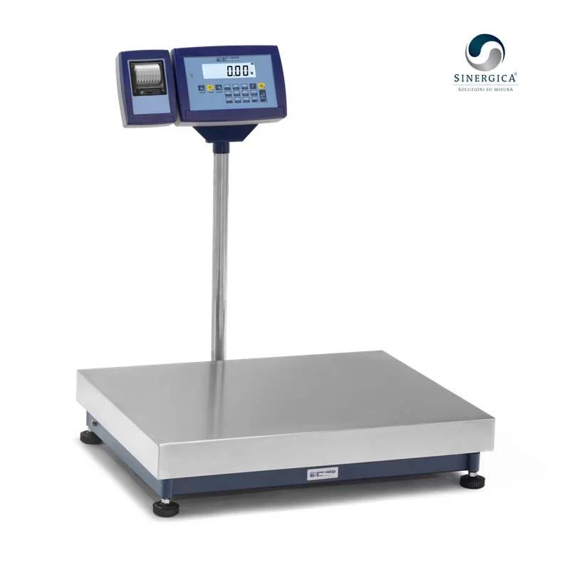 Bilancia con stampante termica collegata