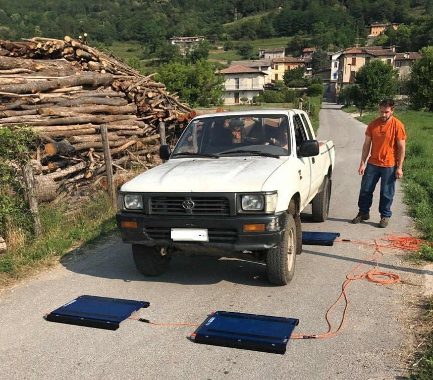 bilancia per pesare legna