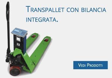 Transpallet con Bilancia Integrata