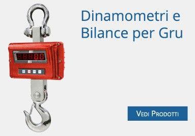 Dinamometri e Bilance per Gru